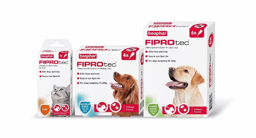 Beaphar FIPROtec Spot-On for cats and dogs