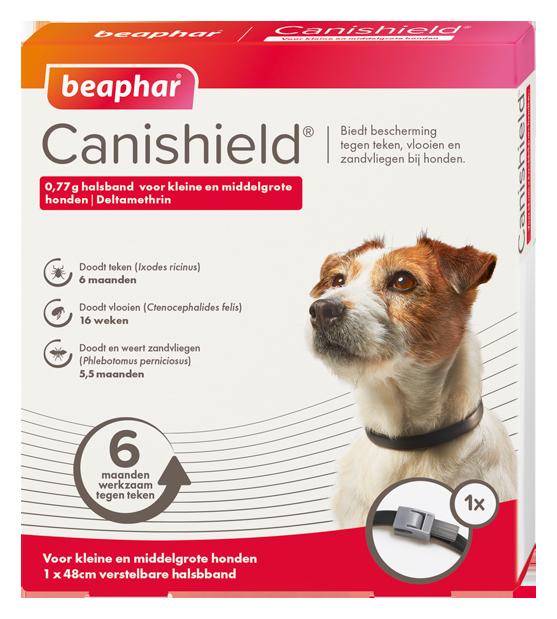 Beeaphar Canishield hond klein/middel