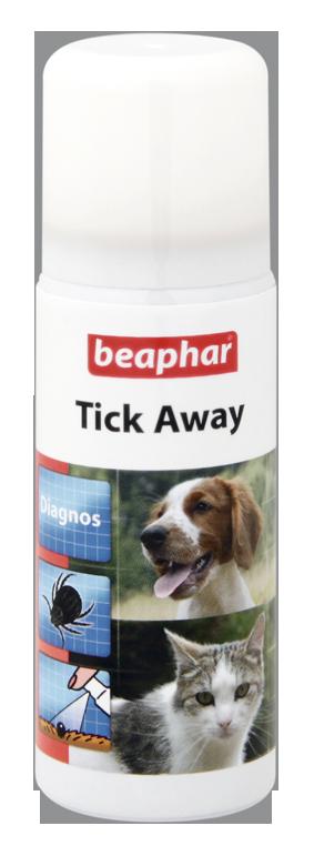 Tick away spray
